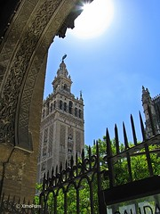 Catedral, Alcázar y Archivo de Indias en Sevilla (XimoPons : vistas 4.500.000 views) Tags: españa church sevilla spain cathedral catedral andalucia iglesias catedraldesevilla patrimoniodelahumanidad ph227 ximopons
