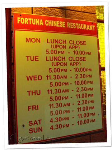 Fortuna chinese reatsurant perth
