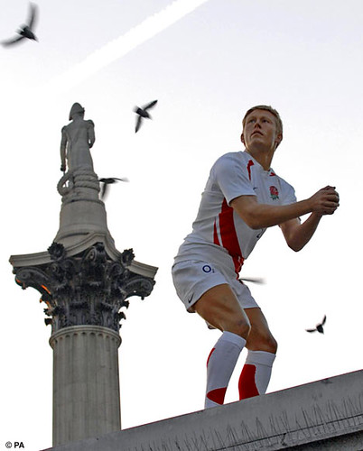 jonny rugby Trafalgar Square