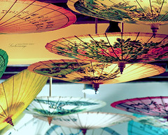 paper umbrellas (ShanLuPhoto) Tags: china colorful chinese beijing culture   umbrellas tranditional  oiledpaperumbrella loolooimage