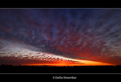 Just Before Sunrise (DolliaSH) Tags: morning light sunset red sky orange sun holland color sol colors clouds sunrise canon skyscape spectacular landscape atardecer photography lights soleil photo amazing zonsondergang topf50 europe tramonto foto sonnenuntergang view photos rich wide nederland thenetherlands paisaje colores formation explore 1855 shape sole sonne topf100 hermosa breathtaking coucherdesoleil puestadelsol zuidholland zakat southholland amazingsky 50faves explored 450d canoneos450d solntse dollia dollias sheombar dolliash wolkenwolkcloudswolkeskyernuagesnuagenubinuvensoblakanubesnubemolnkumo peregrino27newvision
