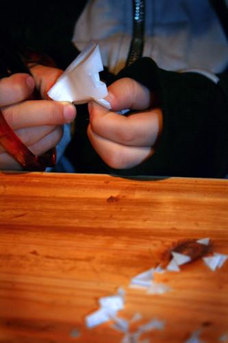 Crafting snowflake 3