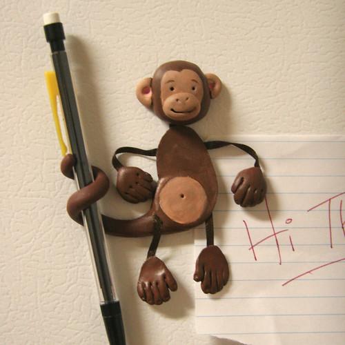 Monkey Magna-Pal