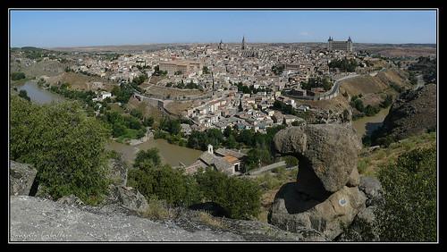 Toledo desde la Peña del Rey Moro