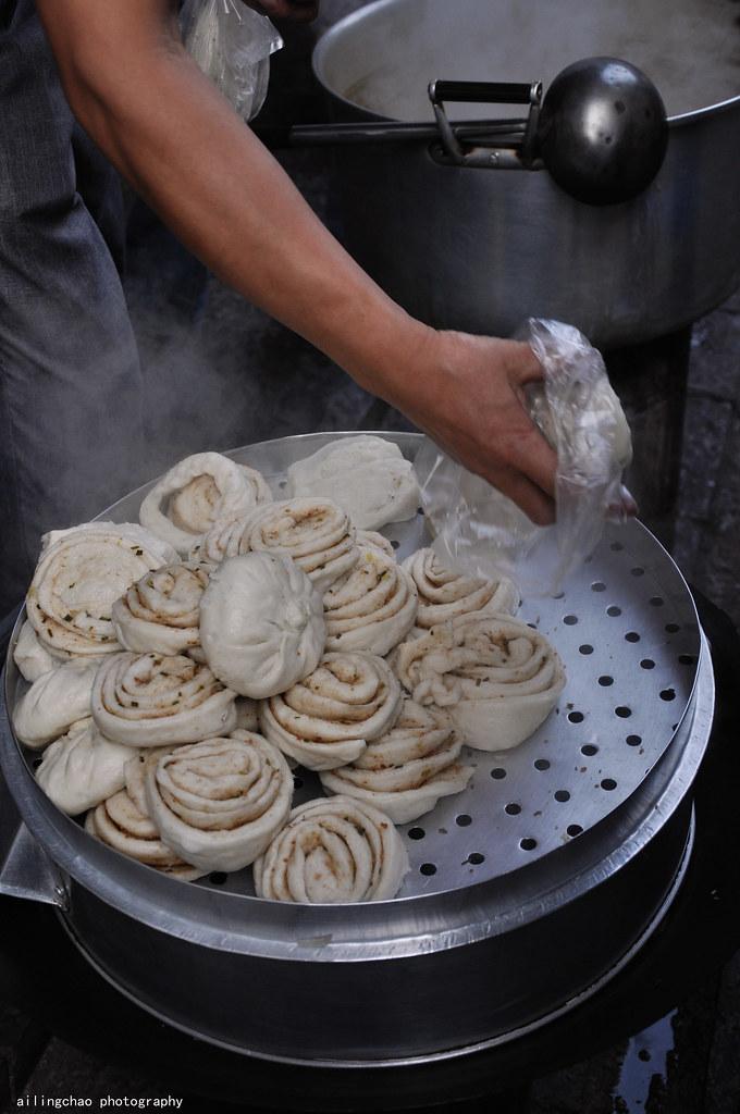 熱騰騰的饅頭