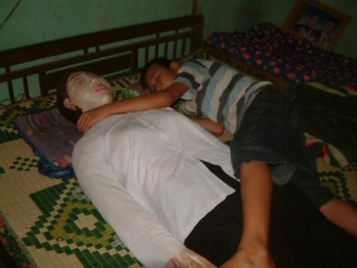 죽은 아내와 5년간 잠자리
