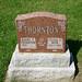Headstone-Thornton, Harry E & Jessie E Weir