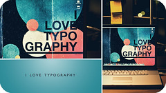I Love Typography (Nick Keating) Tags: photoshop canon computer typography design mac desk bokeh laptop dormroom 50mmf14 lightroom 30d macbookpro ilovetypography nickkeating edmcgowan