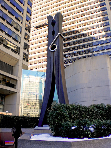 The Clothespin at Centre Square