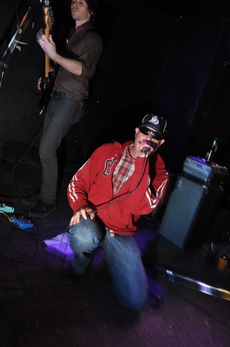 Jeremy Gluck of The Barracudas at Babylon