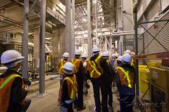 Portlands Energy Centre tour starting
