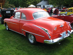 1950 Oldsmobile 88 coupe (Hugo90) Tags: auto show classic car club washington antique bellingham 88 coupe meet 1950 oldsmobile ocar