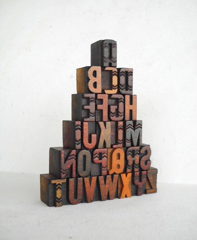 Woodtype | Chevron