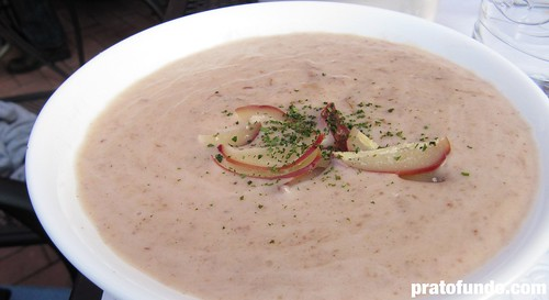 Casa da Li: Sopa de Pinhão