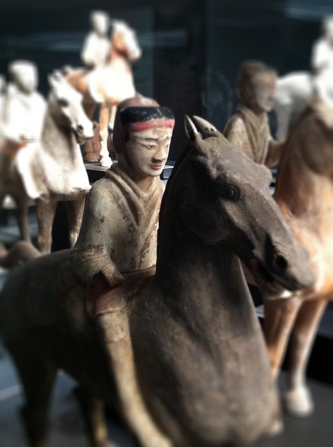 mini terracotta army (Han era)