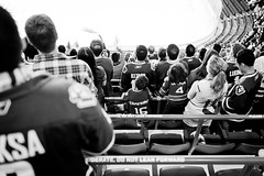 Go Nucks Go! (b.lam) Tags: blackandwhite cup hockey vancouver 35mm canon photography nhl f14 14 stanley sheet canucks playoff 35l 5d2