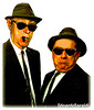BLUES BROTHERS (edoardo.baraldi) Tags: bossi berlusconi ilritorno centrodestra