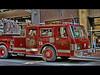 False Alarm 2 - HDR (David Gn Photography) Tags: oregon photoshop truck portland downtown firetruck vehicle fireengine hdr falsealarm photomatix 3exp topazadjust canonpowershotsx1is portlandfirerescue