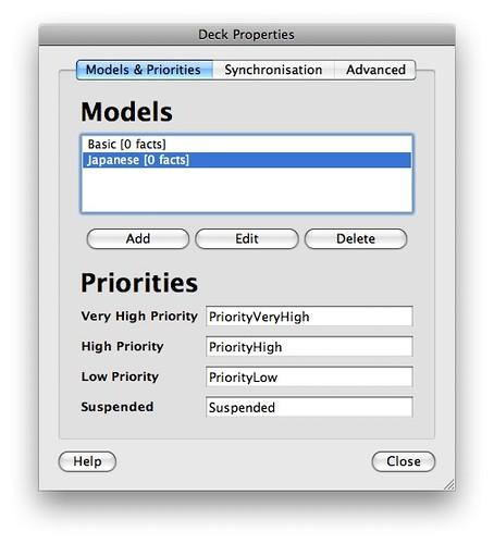 listes des modèles 2