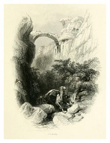 018--El arco visto desde la quebrada de entrada-Bartlett, W. H. 1856
