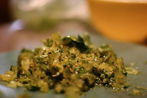 Alli's Cilantro Pickle Relish
