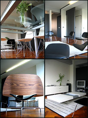 My small loft apartment (dvd.berg) Tags: house home architecture loft carpet whitewalls jung apartment furniture interior space small decorating remodel eames vitra striped overview dema mouldedplywood leolux furniturearrangement