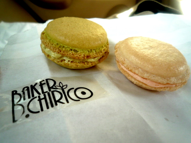 Baker D Chirico macarons