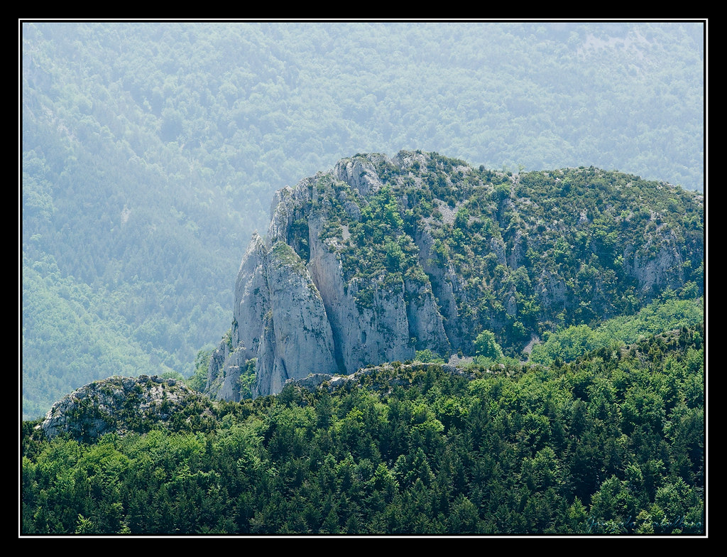 Cara Este de Arizgaña desde la cima del Remendía