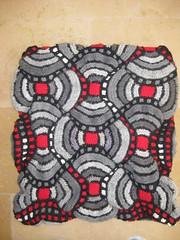 African Adventure Bag - pre-felting 004