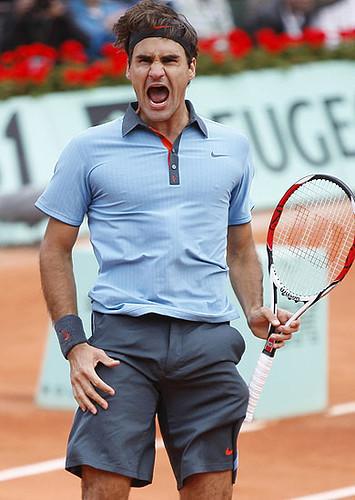 Roger Federer - Roland Garros 2009 by Perunotas TV.