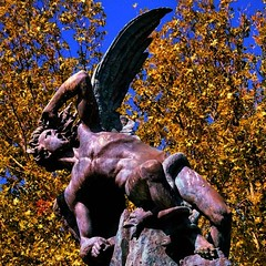 Lucifer the Angel falling from Heaven by George_Reader