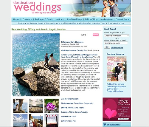 DW&Honeymoons feature