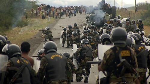 Peru Protest - June 5, 2009