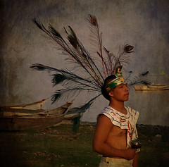 ~rainmaker dancer~ (uteart) Tags: mexico dancer explore canoes myfave textured prehispanic rainmaker utahagen utehagen uteart ranchochimalli explore061109