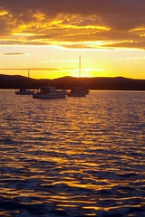Anchorage (ssoross1) Tags: water clouds boats sunsets lakemacquarie warnersbay pentax50mm pentaxk100d