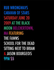 Rub Wrongways Caravan of Stars (Belchertown, MA)