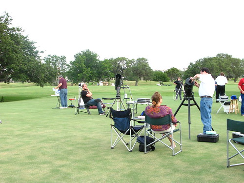 Hyatt Star Party- San Antonio Astronomical Assoc.