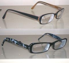 Óculos: antigo X novo