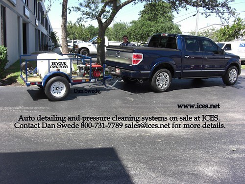 Mobile auto detailing business equipment for sale. Contact Dan Swede 800-731-7789 sales@ices (43)