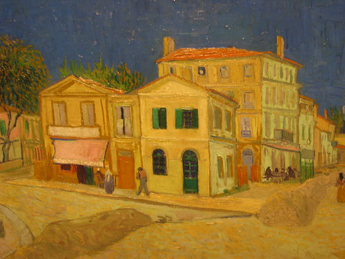 Vincent van Gogh 1888 The yellow house ('The street') - detail