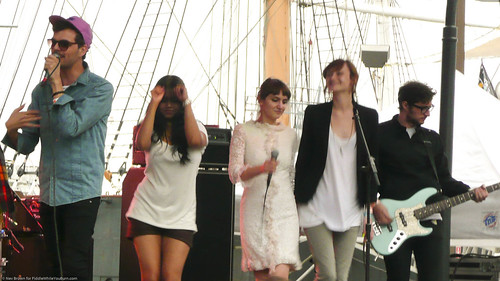 06.17 the Teenagers @ South Street Seaport (10)