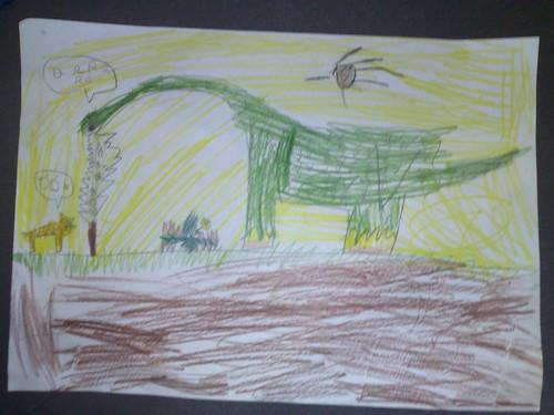 Dinossauro by @giorgio_w por você.