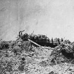 Bataille du chemin des Dames - Plateau des Casemates sur le plateau Vauclerc (photo VestPocket Kodak Marius Vasse 1891-1987) thumbnail