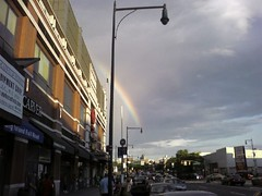 Brooklyn Rainbow (justpat) Tags: brooklyn rainbow flatbush atlanticcenter atlanticterminal