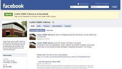 New! facebook fan page