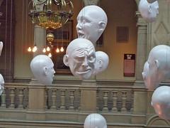 Faces, Kelvingrove Museum
