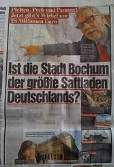 BILD Ruhrgebiet: Ist die Stadt Bochum der größte Saftladen Deutschlands?