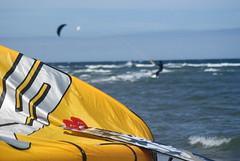 sehlendorf  27.06.09 383 (morgenstern28) Tags: strand jump wasser kinder ostsee wather wellen kiten springen sehlendorf