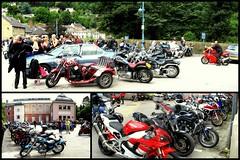3x autostitch Matlock.. (Mike-Lee) Tags: autostitch sunshine derbyshire bikes motorbike matlock spivforflickr aug2009