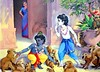 Krishna and Balaram steal butter - ISKCON desire tree (ISKCON Desire Tree) Tags: vishnu demon krishna garuda kidnap radha gopis rukmini chaitanya radhakrishna iskcon narasimha madhava bhumi govardhan bhima lordvaraha
